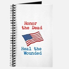 Honor the dead Journal