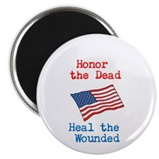"""Honor the dead 2.25"""" Magnet (100 pack)"""