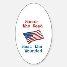 Honor the dead Decal