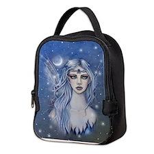 Sapphire Fairy Fantasy Art Neoprene Lunch Bag