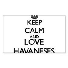 Keep calm and love Havaneses Decal
