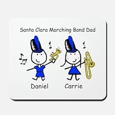 Santa Clara Band Dad Mousepad