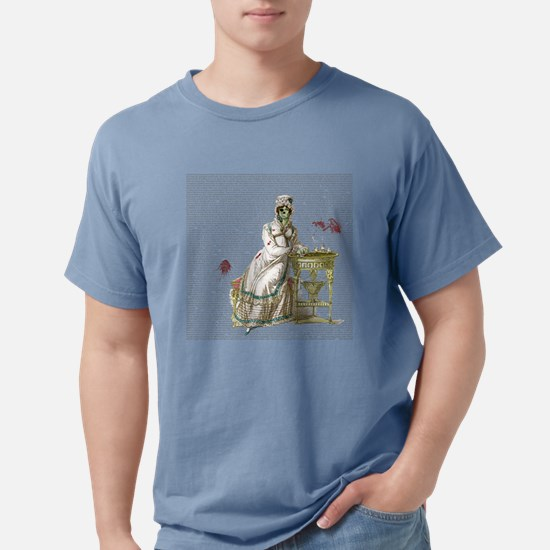 Seated Zombie Lady T-Shirt