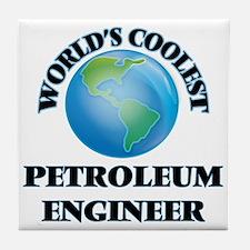 Petroleum Engineer Tile Coaster