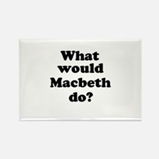 Macbeth Rectangle Magnet