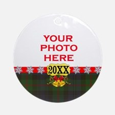 Murray Tartan Christmas Ornament (Round)