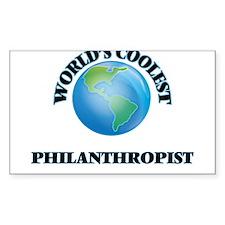 Philanthropist Decal