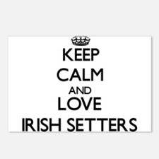 Keep calm and love Irish Postcards (Package of 8)