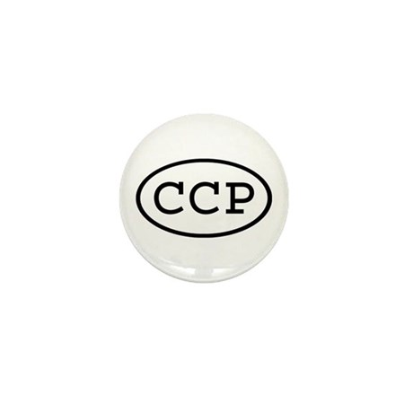 CCP Oval Mini Button (100 pack)