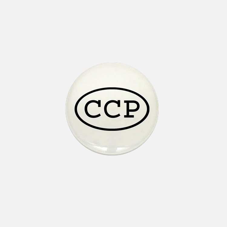 CCP Oval Mini Button