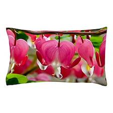 Bleeding Heart Flowers Pillow Case