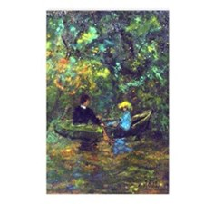 Boating (after Monet) Postcards (package Of 8)