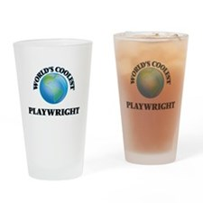 Playwright Drinking Glass