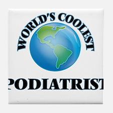Podiatrist Tile Coaster