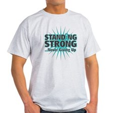 Ovarian Cancer Strong T-Shirt