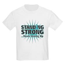 Ovarian Cancer Strong T-Shirt
