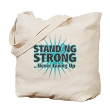 Ovarian Cancer Strong Tote Bag