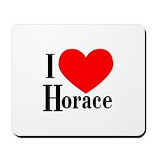 I Love Horace Mousepad