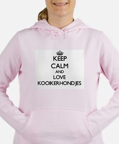 Keep calm and love Kooik Women's Hooded Sweatshirt