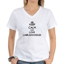 Keep calm and love Labradoodles T-Shirt