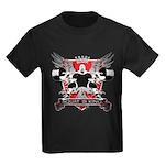 SQUAT IS KING Kids Dark T-Shirt
