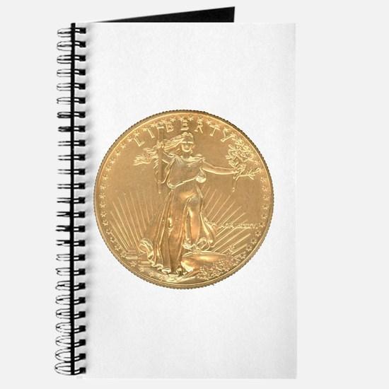 Gold Liberty 1986 Journal