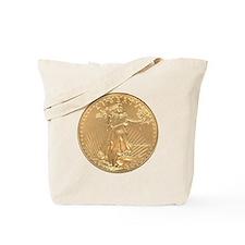 Gold Liberty 1986 Tote Bag