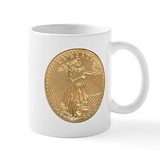 Gold Liberty 1986 Mug