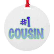 #1 cousin Ornament