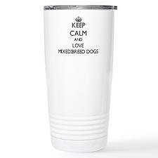 Keep calm and love Mixe Travel Coffee Mug