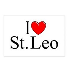 """I Love St. Leo"" Postcards (Package of 8)"