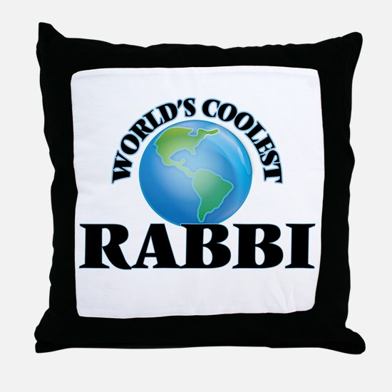 Rabbi Throw Pillow