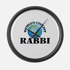 Rabbi Large Wall Clock