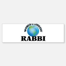 Rabbi Bumper Bumper Bumper Sticker