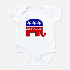 """Weepublican"" Infant Bodysuit"