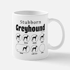 Stubborn Greyhound v2 Mug