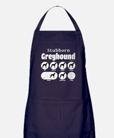 Stubborn Greyhound v2 Apron (dark)