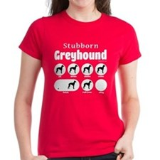 Stubborn Greyhound v2 Tee