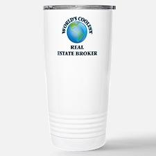 Real Estate Broker Thermos Mug