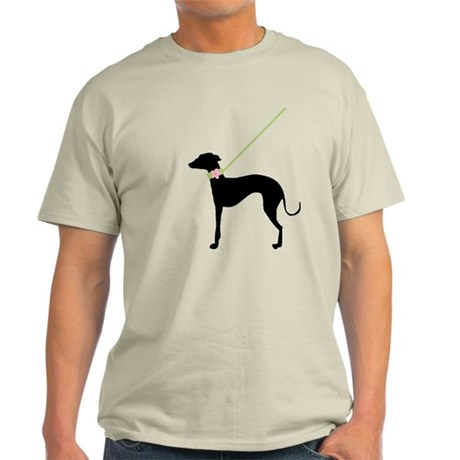 Black Dog w/ Flower Light T-Shirt