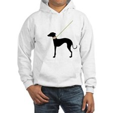 Black Dog w/ Flower Jumper Hoody