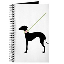 Black Dog w/ Flower Journal