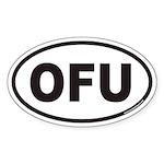 OFU Euro Oval Sticker