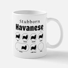 Stubborn Havanese v2 Mug
