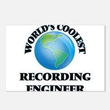 Recording Engineer Postcards (Package of 8)