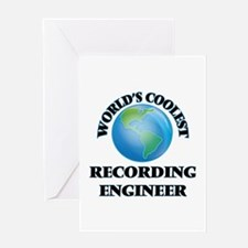 Recording Engineer Greeting Cards