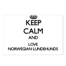 Keep calm and love Norweg Postcards (Package of 8)