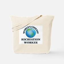 Recreation Worker Tote Bag