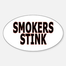 Smokers stink - Decal
