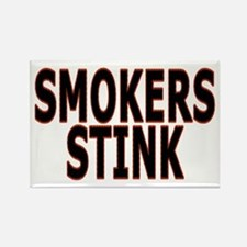 Smokers stink - Rectangle Magnet